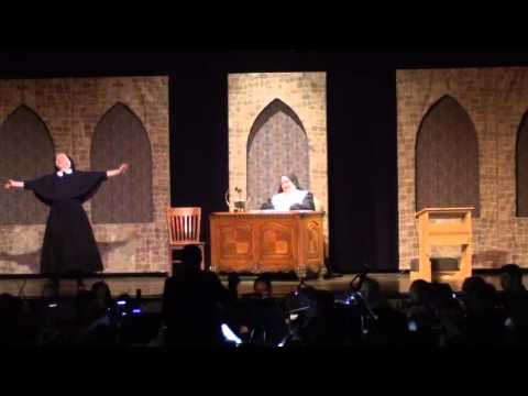 "Clips from recent productions of ""The Sound of Music"" and ""The Pajama Game"" (Reading)."