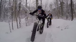 New Year's Day Fat Bike Ride at Snowkraft 2019!