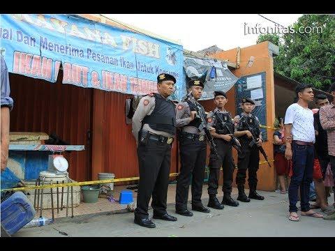 Lokasi Penggerebekan Teroris di Tangerang