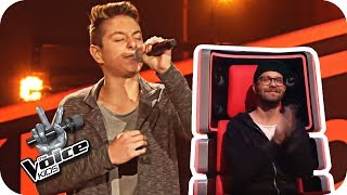 Teesy - Keine Rosen (Andreas) | The Voice Kids 2017 | Blind Auditions | SAT.1