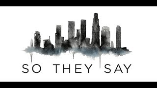 We Three - So They Say (Lyric Video)