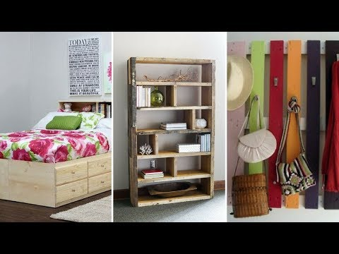 5 Creative Wall Storage Ideas Using Re purposed Pallet