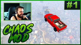 GTA V Chaos Mod! #1 - Everything Is Possible (Random Effect Every 30 Seconds)