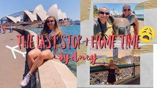 THE LAST VLOG AKA SYDNEY & HOME TIME    backpacking east coast australia
