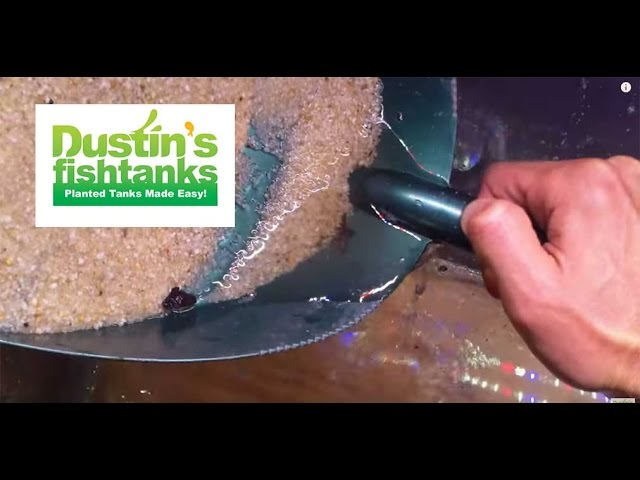How to remove Gravel from an Aquarium. Easy way to remove substrate