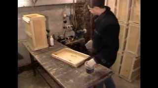 Ловушка для пчел. Чертеж, сборка и практика применения.