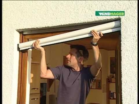 Windhager Insektenschutz-Klemm-Rollo Aluprofi für Fenster
