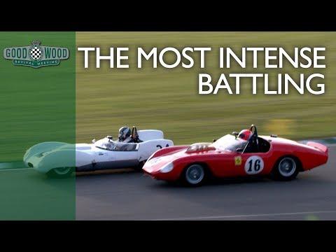 5 incredible Ferrari 246S Dino overtakes at Goodwood