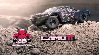 Redcat Camo TT Pro 1/10 Scale Brushless Electric RC Trophy Truck