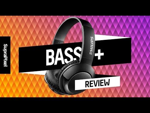 Buen sonido y control en los Philips BASS+