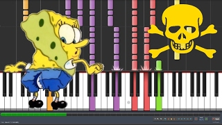 Ripped Pants - SpongeBob SquarePants (Impossible Piano Version) 😈😈😈