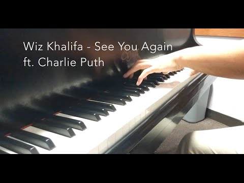 Wiz Khalifa - See You Again ft. Charlie Puth (piano cover)