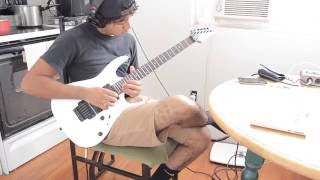 """Black Fire"" (Guitar solo cover by Andre John) HD"