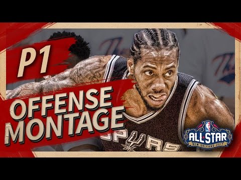 Kawhi Leonard Offense & Defense Highlights Montage 2016/2017 (Part 1) - ALL-STAR STARTER!