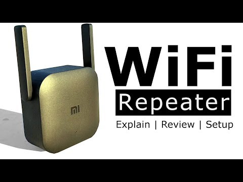 What is repeater in networking? | Xiaomi MI WiFi repeater pro review and setup