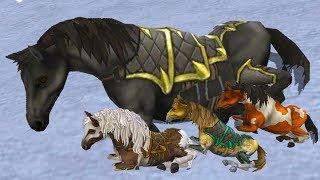 СИМУЛЯТОР МАЛЕНЬКОГО ПИТОМЦА #12 Лошади и маленькая Лошадка - Жизнь Зверей Онлайн #ПУРУМЧАТА