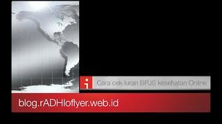 Cek Iuran BPJS Kesehatan Online