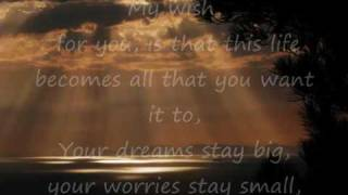 Rascal Flatts ~ My wish for you ~ with lyrics