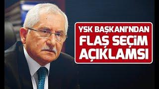 Son Dakika! YSK Başkanı Sadi Güven'den 'sahte Seçmen' Açıklaması