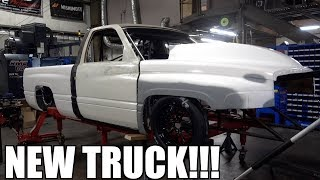 WE HAVE A NEW CUMMINS DRAG TRUCK!!!!!