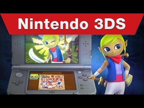 Nintendo 3DS - Hyrule Warriors Legends E3 2015 Trailer thumbnail