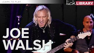 Learn to play Joe Walsh | Guitar Lessons