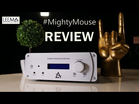 Leema Acoustics #MightyMouse Elements Integrated Amplifier REVIEW Conclusion great HiFi amp