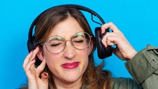 You're probably damaging your ears. Stop!