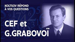 Les CEF de Koltsov et les chiffres de Grabovoï ?