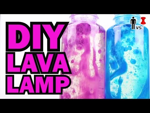 DIY LAVA LAMP - CORINNE VS PIN - Pinterest Test #9