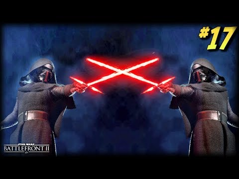Star Wars Battlefront 2 - Funny Moments #17 (Kylo's Hidden Force Power!)