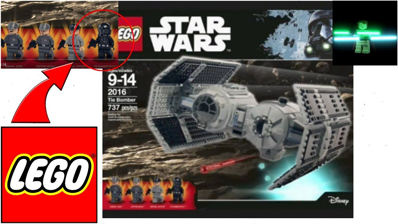 Video Possible New Lego Star Wars Tie Bomber Real Or Fake
