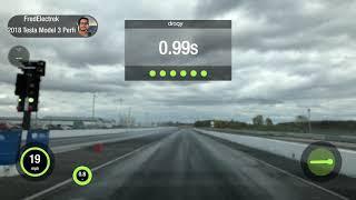 Tesla Model 3 Performance vs Nissan Skyline GTR quarter-mile