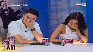 Tonight with Arnold Clavio: AiMark share how their love story started