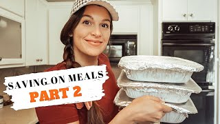 14 FREEZER MEALS FOR $100 OR LESS: FREEZER MEALS: SAVING ON MEALS