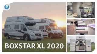 BOXSTAR XL 2020 -  KNAUS Family Camper Van (CUV) With 4 Berths | Roomtour
