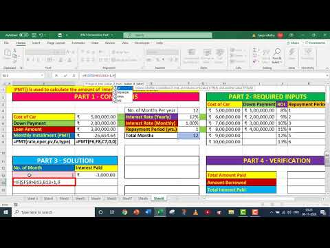 EXCEL IPMT WITH GARBAGE CLEANING