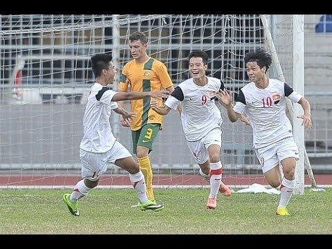 Tổng hợp các bàn thắng U19 Việt Nam 5-1 U19 Australia. Quá tuyệt vời các chàng trai đất Việt !!!