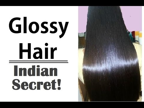 Glossy Hair - How to Make Hair Shiny & Silky Naturally (Men & Women) | Superwowstyle Healthy Hair