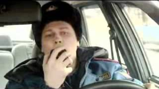 """Ролевая игра по сериалу """"Глухарь"""", Инспектор ГИБДД Антошин.flv"""