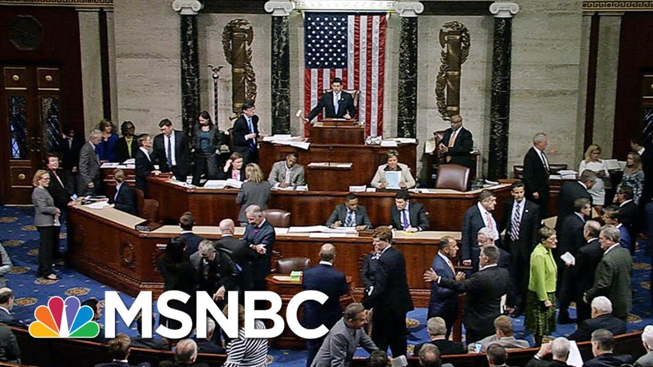 House Passes Hurricane Harvey Aid And Budget Package, Sends Bill To President Donald Trump | MSNBC thumbnail