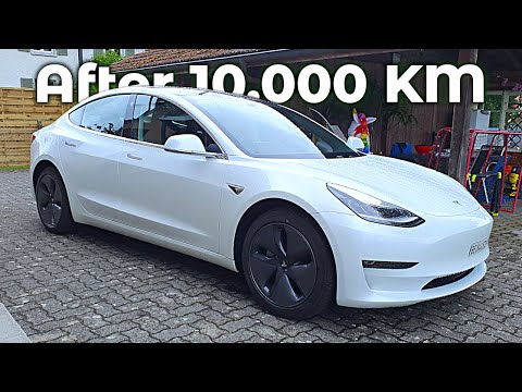 Tesla Model 3 Long Range Review after 10.000 KM | Would i buy it again ?