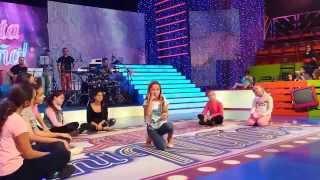 The Sound of music -DO RE MI - MAKING OF -Ariann (8 años)  FINAL CANTA MI NIÑO