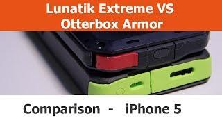 Lunatik Taktik Extreme vs. Otterbox Armor iPhone 5 Cases