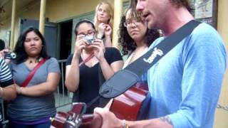 Anthony Green Acoustic - Just to Feel (New Unknown Song) 4/25/2010