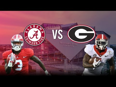 Georgia VS Alabama 2018 National Championship Hype |