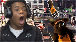 WE GOT A MASCOT HIS FIRST WIN but theres a twist... 98 overall mascot react to best shooter w fanum