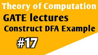Theory of Computation GATE Example | Construct DFA String contain abb as SubString | TOC GATE