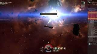 EVE Online Hulkageddon - example of a gank going wrong (i.e. a fail gank)