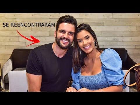 Ivy Moraes reencontra ex-noivo no aniversário do filho, Luiz Miguel